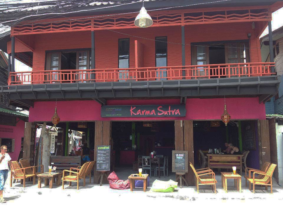 In the district the most French of koh samui thailand bar and French restaurant with Thai Karma Sutra and Laurent Simon